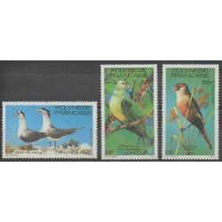 Polynésie - 1981 - No 168/170 - Oiseaux