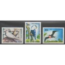 Polynésie - 1980 - No 156/158 - Oiseaux