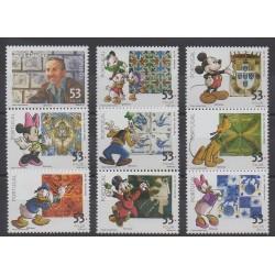 Portugal - 2001 - No 2522/2530 - Walt Disney