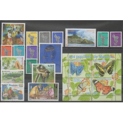 Mayotte - Complete year - 2004 - Nb 149/169