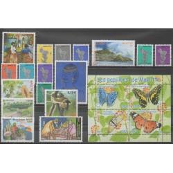Mayotte - Année complète - 2004 - No 149/169