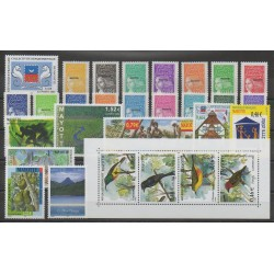 Mayotte - Complete year - 2002 - Nb 111/139