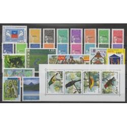 Mayotte - Année complète - 2002 - No 111/139