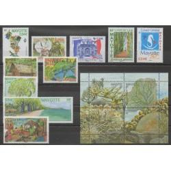 Mayotte - Année complète - 2007 - No 194/207