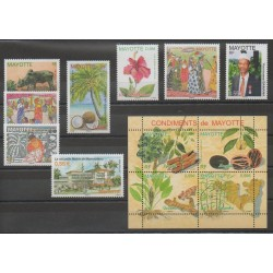 Mayotte - Complete year - 2008 - Nb 208/219