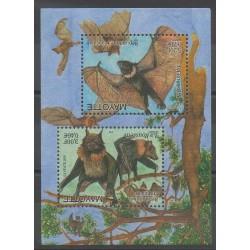 Mayotte - Bloc et feuillet - 2001 - No BF5 - Mammifères