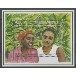 Mayotte - Block and sheet - 2000 - Nb BF3