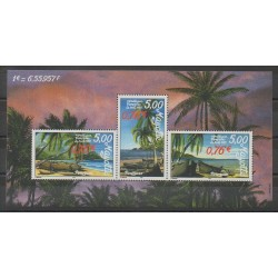 Mayotte - Bloc et feuillet - 1999 - No BF2 - Navigation