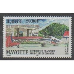 Mayotte - Poste aérienne - 2001 - No PA5 - Aviation
