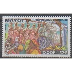 Mayotte - Poste aérienne - 1999 - No PA4