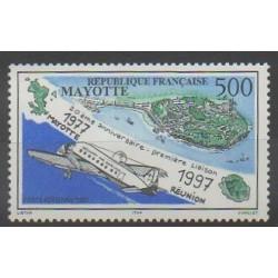 Mayotte - Poste aérienne - 1997 - No PA2 - Aviation