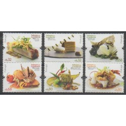 Portugal - 2009 - No 3393/3398 - Gastronomie