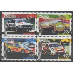 Australie - 2012 - No 3685/3688 - Voitures