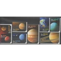 Australie - 2015 - No 4195/4202 - Astronomie