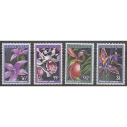 Australie - 1986 - No 973/976 - Orchidées