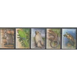 Norfolk - 2009 - No 999/1003 - Animaux - Reptiles
