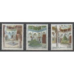 Algérie - 1986 - No 871/873 - Monuments
