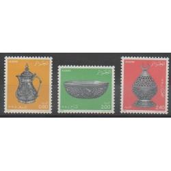Algérie - 1985 - No 828/830 - Artisanat