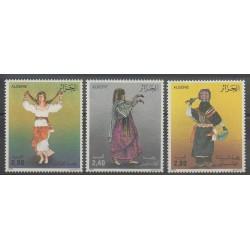 Algérie - 1986 - No 879/881 - Costumes