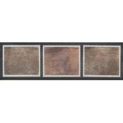 Algérie - 1987 - No 892/894 - Peinture