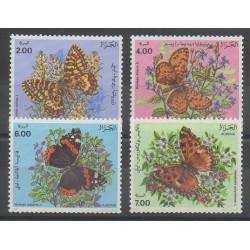 Algérie - 1991 - No 1005/1008 - Insectes