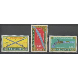 Algeria - 1970 - Nb 519/521 - Art