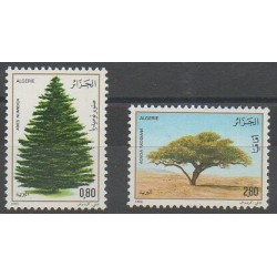 Algeria - 1983 - Nb 779/780 - Trees