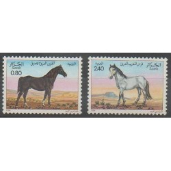 Algérie - 1984 - No 813/814 - Chevaux