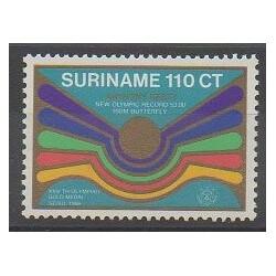 Surinam - 1988 - No 1137 - Jeux Olympiques d'été