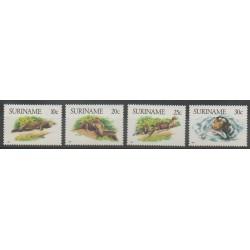 Surinam - 1988 - No 1144/1147 - Mammifères - Animaux marins