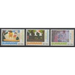 Surinam - 1988 - No 1141/1143 - Enfance