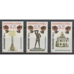 Surinam - 1988 - No 1129/1131 - Droits de l'Homme