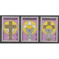 Surinam - 1988 - No 1122/1124 - Pâques