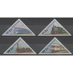 Surinam - 1991 - No 1212/1215 - Chemins de fer