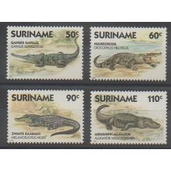 Surinam - 1988 - No 1112/1115 - Reptiles