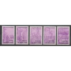 Surinam - 1987 - No 1070/1074 - Pâques