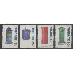 Surinam - 1985 - No 1017/1020 - Service postal