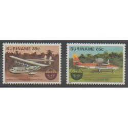 Surinam - 1984 - No 949/950 - Aviation
