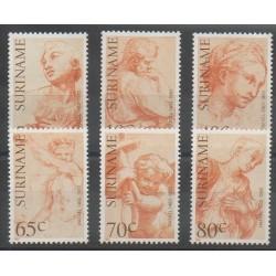 Surinam - 1983 - No 895/900 - Peinture
