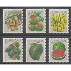 Surinam - 1978 - No 729/734 - Fruits
