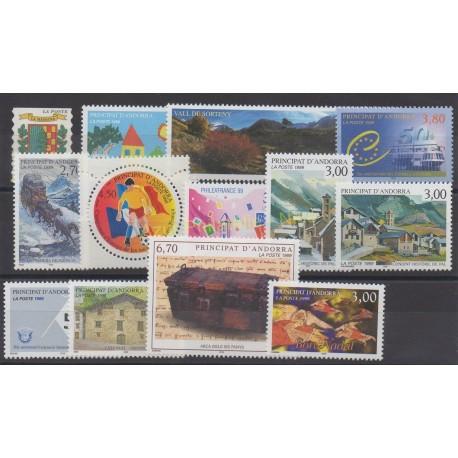 Andorre - Année complète - 1999 - No 512/524