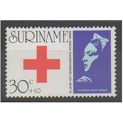 Surinam - 1973 - No 580 - Santé ou Croix-Rouge