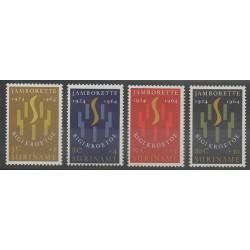 Surinam - 1964 - No 396/399 - Scoutisme