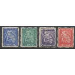 Suriname - 1928 - Nb 131/134 - Health - Mint hinged