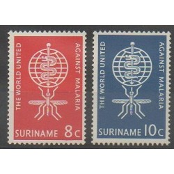 Suriname - 1962 - Nb 371/372 - Health
