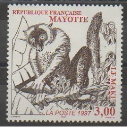Mayotte - 1997 - Nb 46 - Mamals