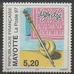 Mayotte - Poste - 1997 - No 44 - Musique