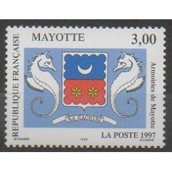 Mayotte - Poste - 1997 - No 43 - Armoiries