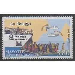 Mayotte - 1998 - Nb 56 - Boats