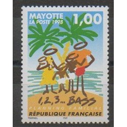 Mayotte - Poste - 1998 - No 54